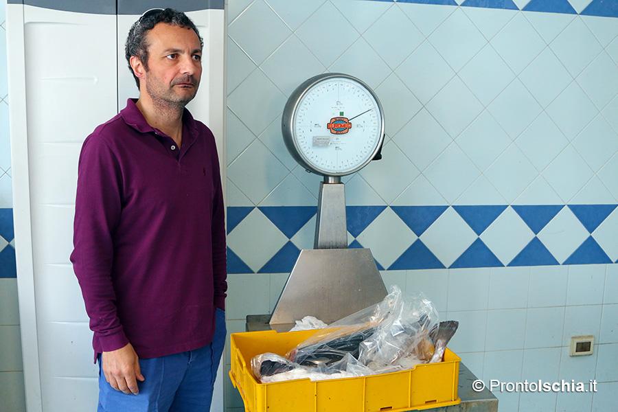 Ciro Mattera in pescheria