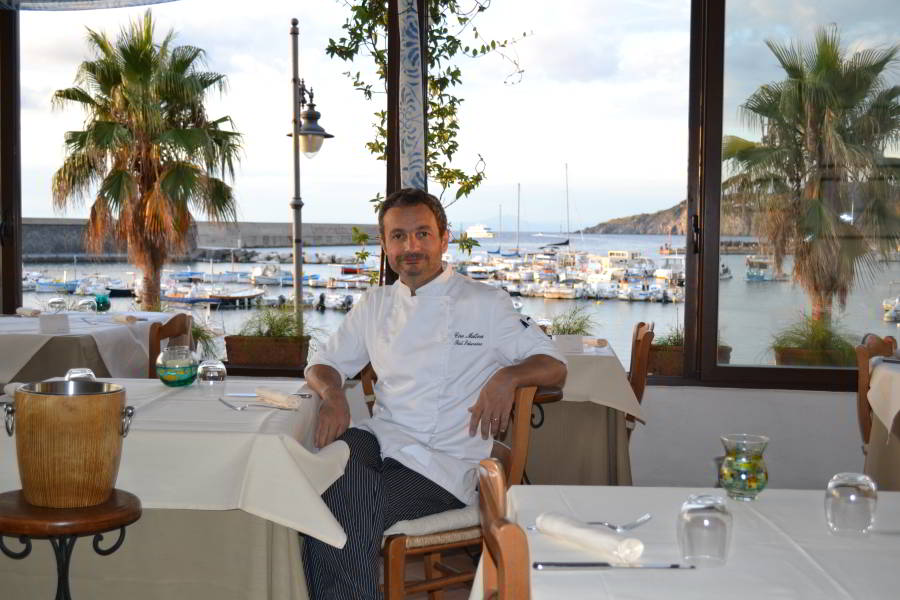 Ciro Mattera - chef Saturnino Ischia